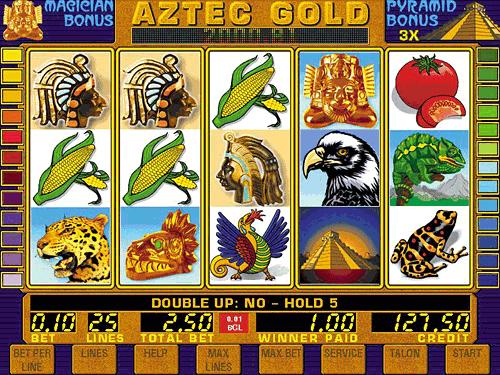 Интернет Казино Игровой Автомат Aztec Gold